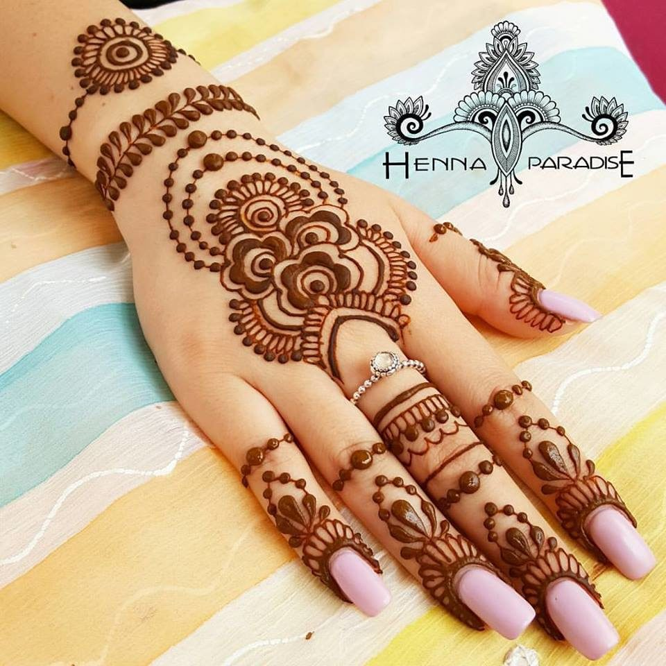 Bridal Mehndi Patterns Gallery : Gallery henna paradise